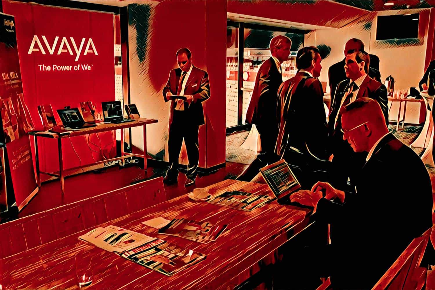Avaya Conference Booth